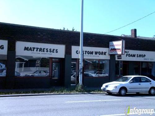 A Friendly Foam Shop - Seattle, WA