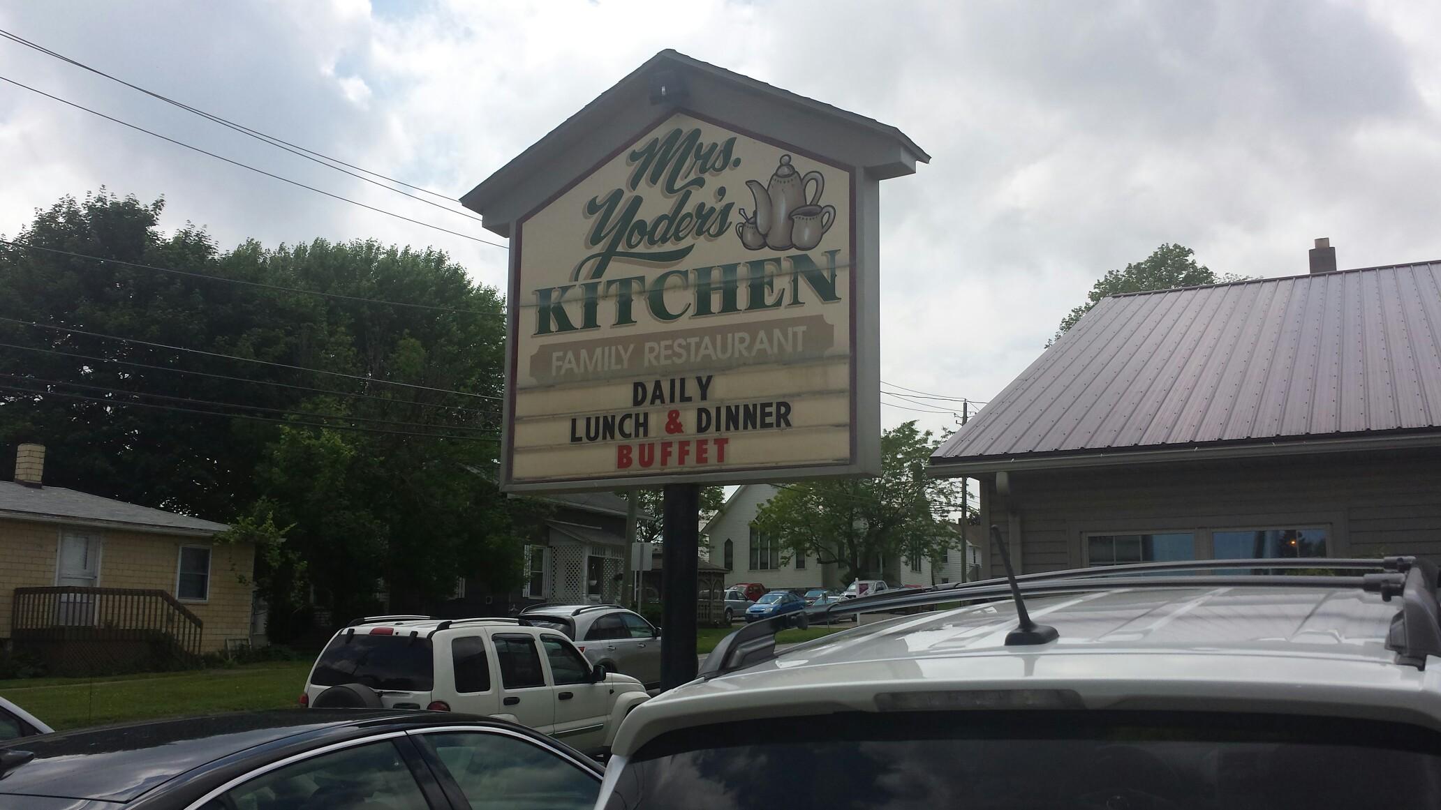 Mrs Yoder's Kitchen, Millersburg OH