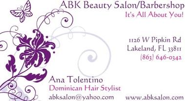 ABK Beauty Salon/Barbershop, Lakeland FL