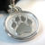 Silver Paw Pet Tags