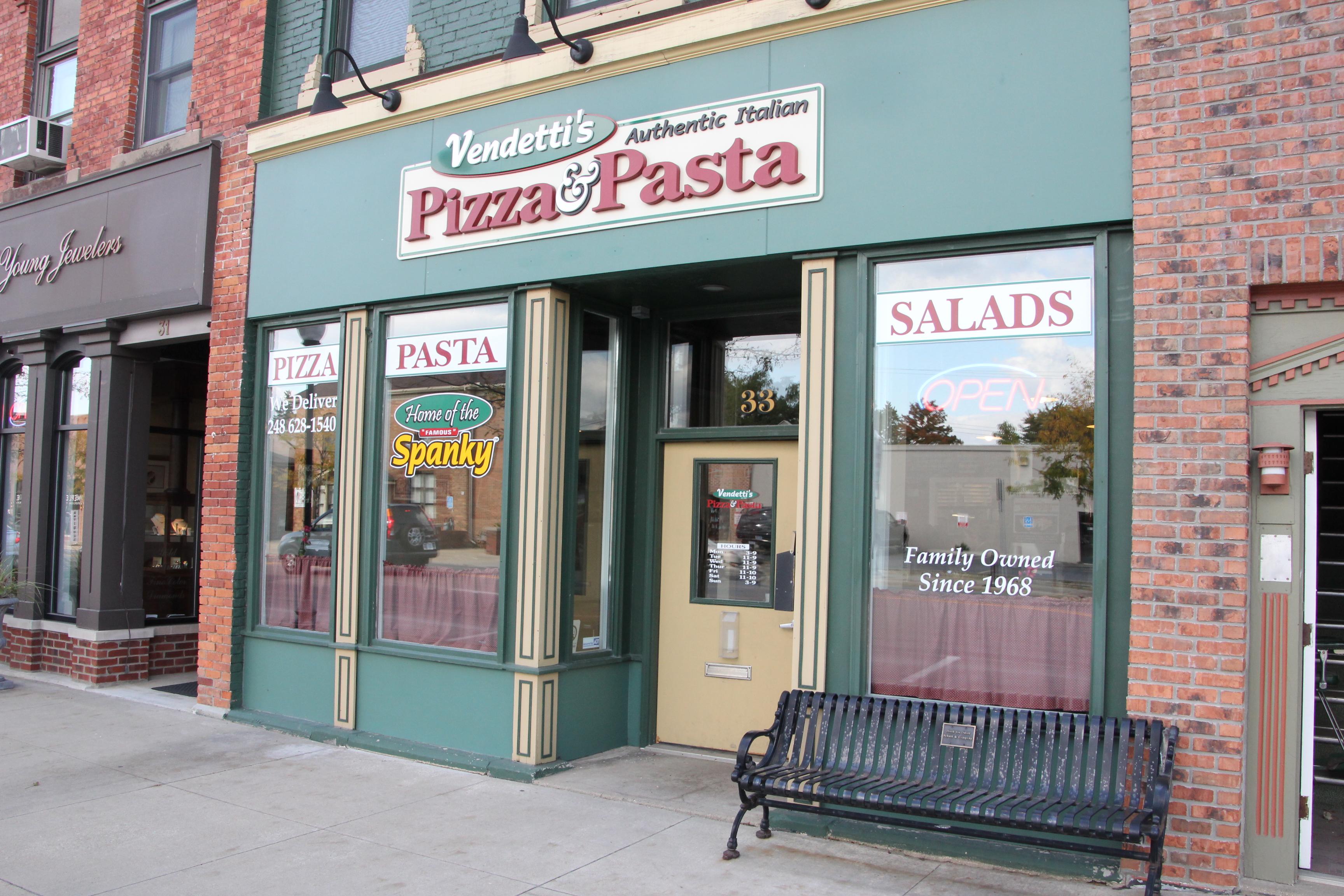 Vendetti's Pizza, Oxford MI