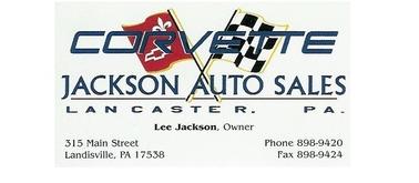 Jackson's Auto Sales, Landisville PA