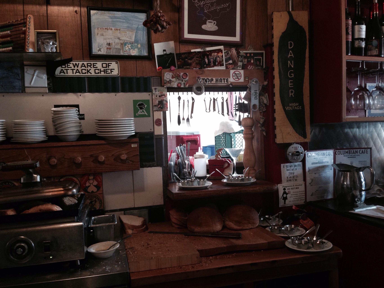 Columbian Cafe, Astoria OR
