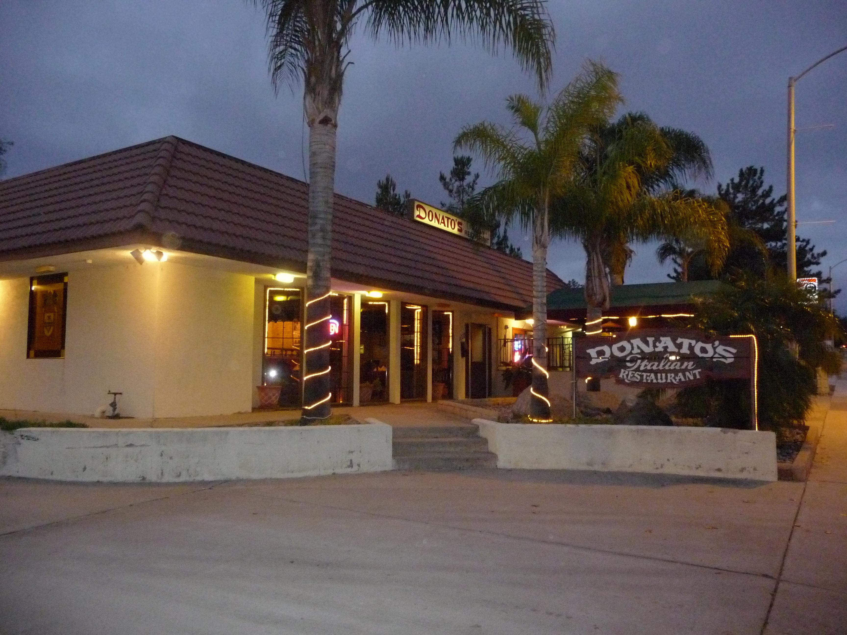 Donato's Italian Restaurant, Alpine CA