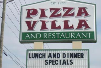 Pizza Villa And Italian Restaurant, Brooksville FL