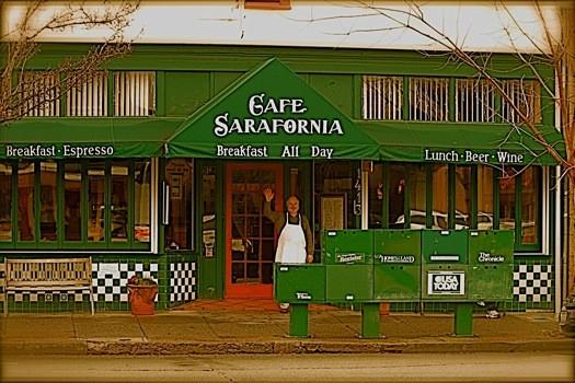Cafe Sarafornia, Calistoga CA