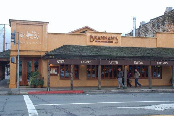 Brannan's Grill, Calistoga CA