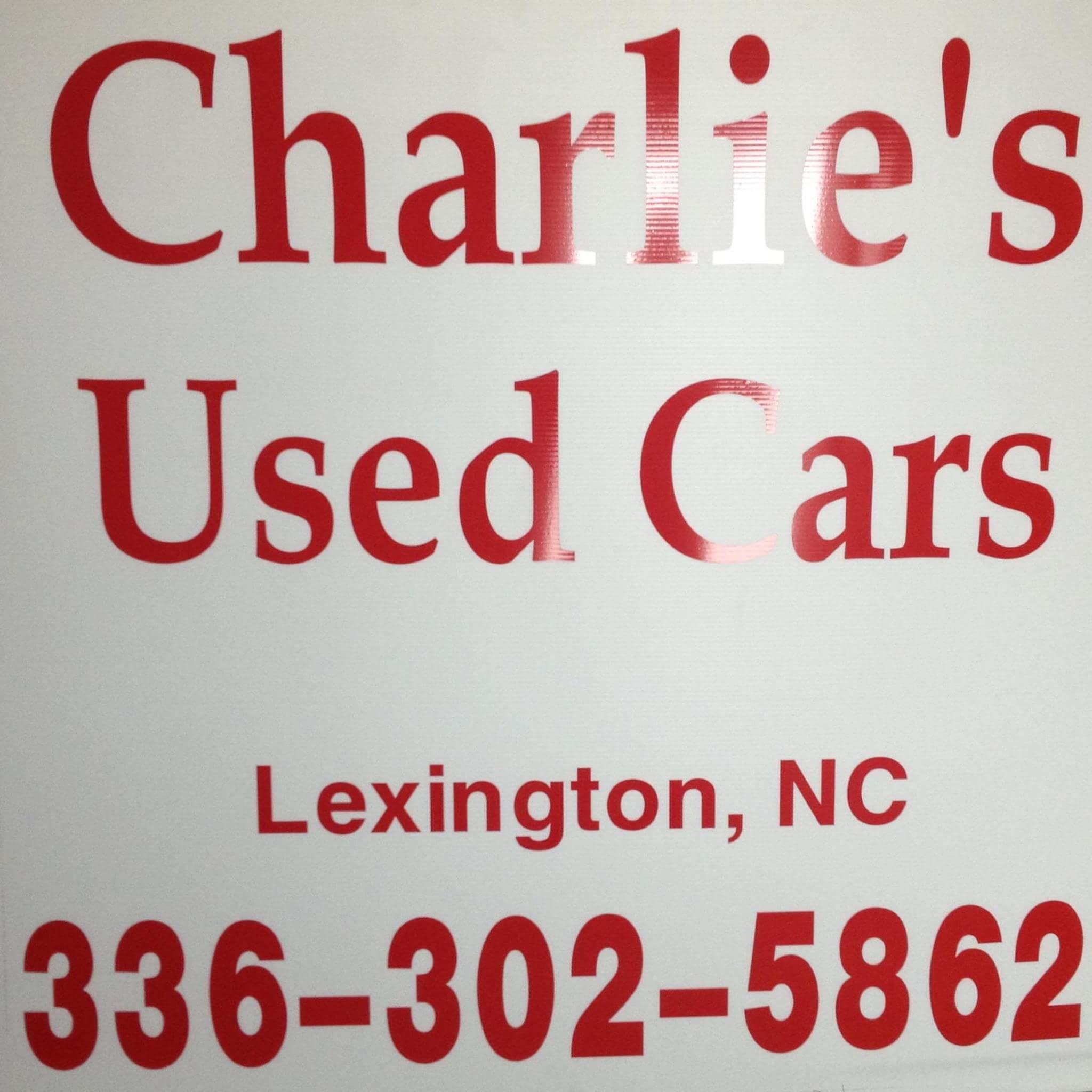 Charlie's used cars, Lexington NC