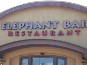 Elephant Bar, Cupertino CA