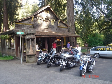 Apple Jack's Inn, La Honda CA