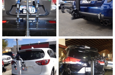 AB Trailer Hitch Inc. - Redwood City, CA. Hitches and bike racks installed