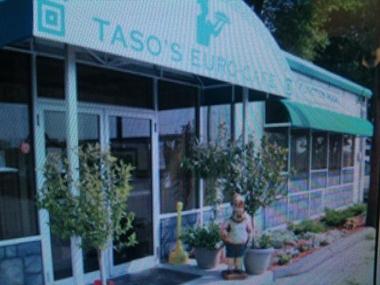 Taso's Euro Cafe, Norwood MA