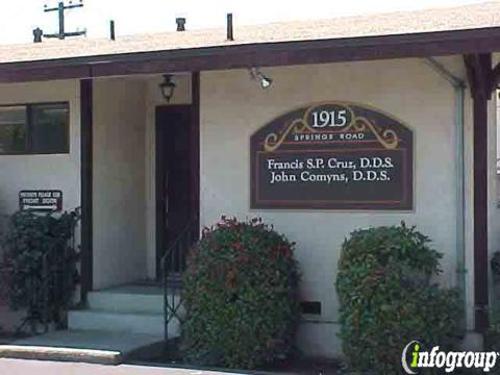 Cruz Francis S.P.DDS - Vallejo, CA