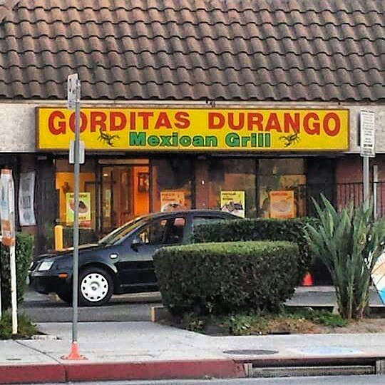 Gorditas Durango Mexican Grill, Panorama City CA