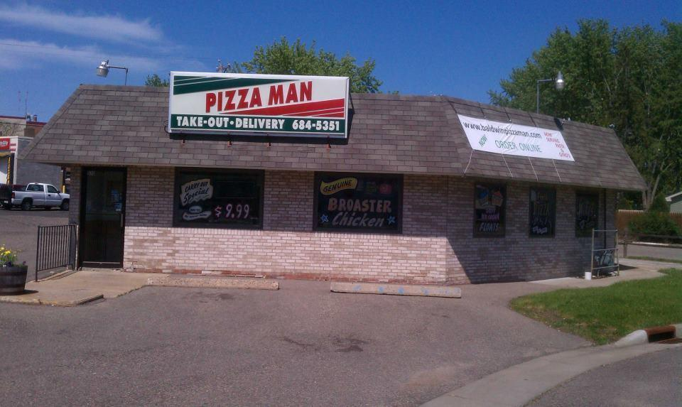 Pizza Man, Baldwin WI