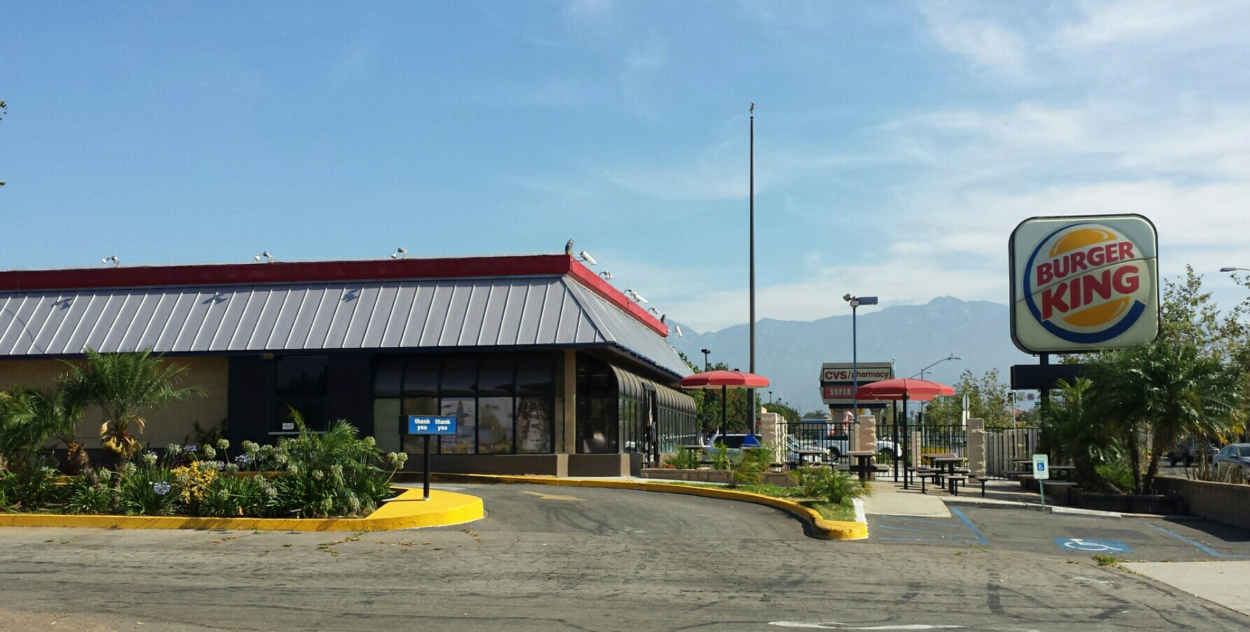Burger King, Temple City CA