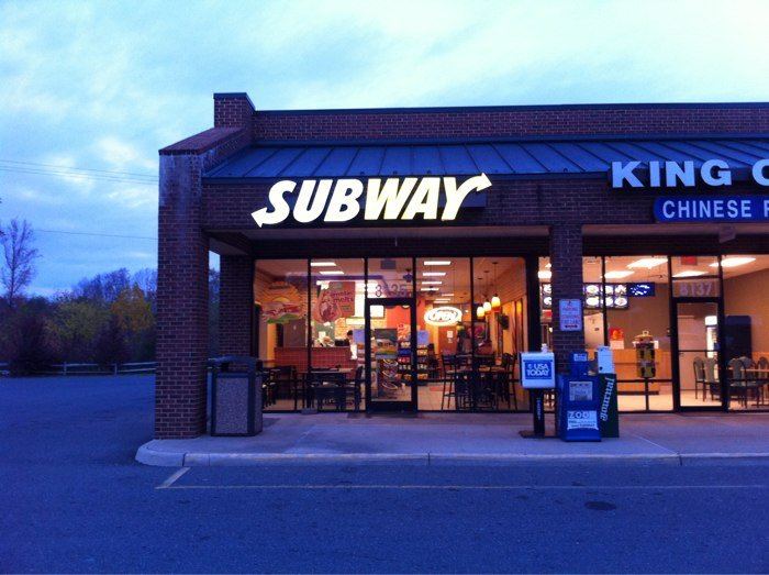 Subway, King George VA
