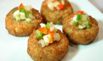 Tasty Crab Cakes: Washington