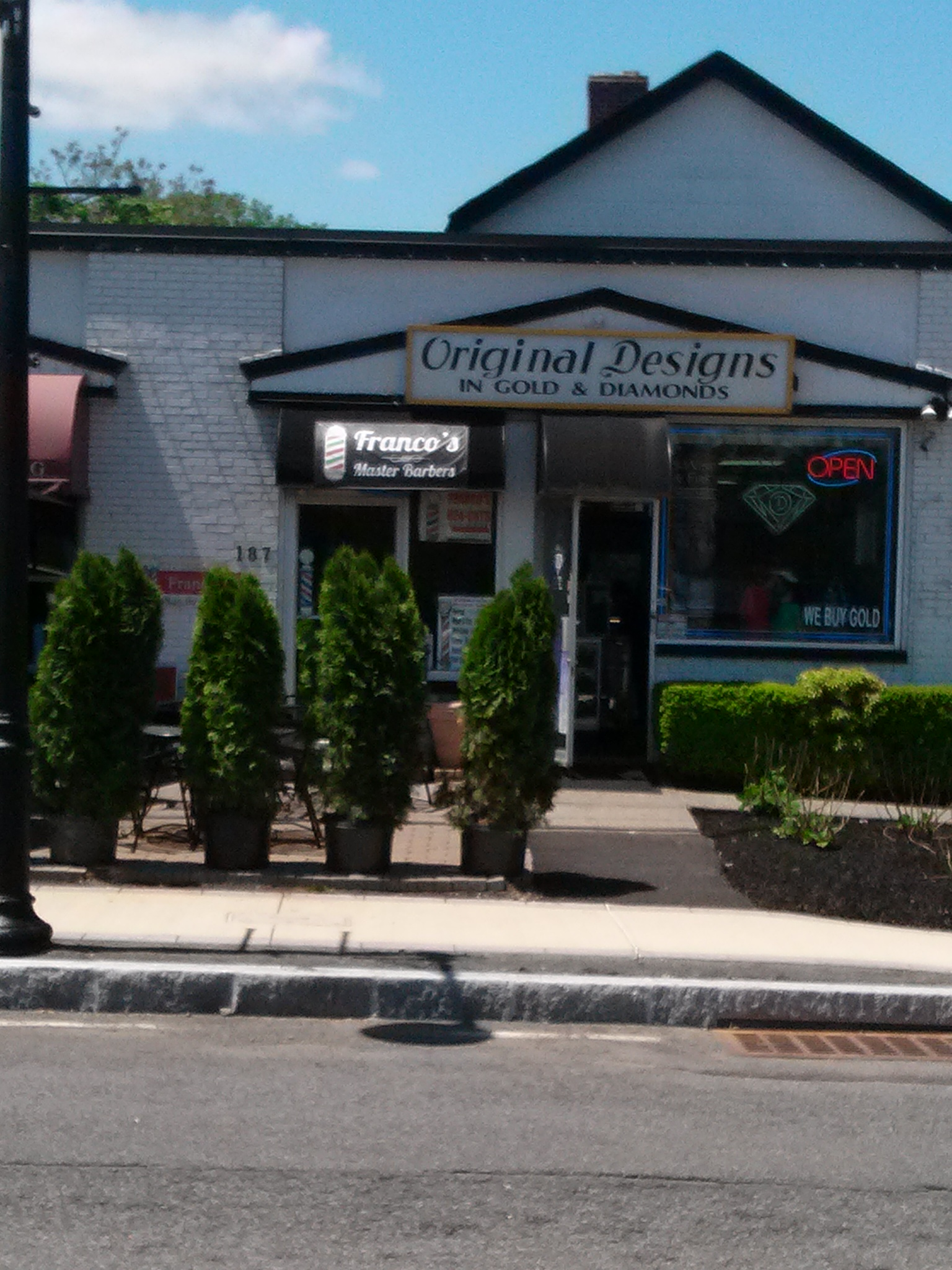 Franco's Master Barbers LTD, New City NY