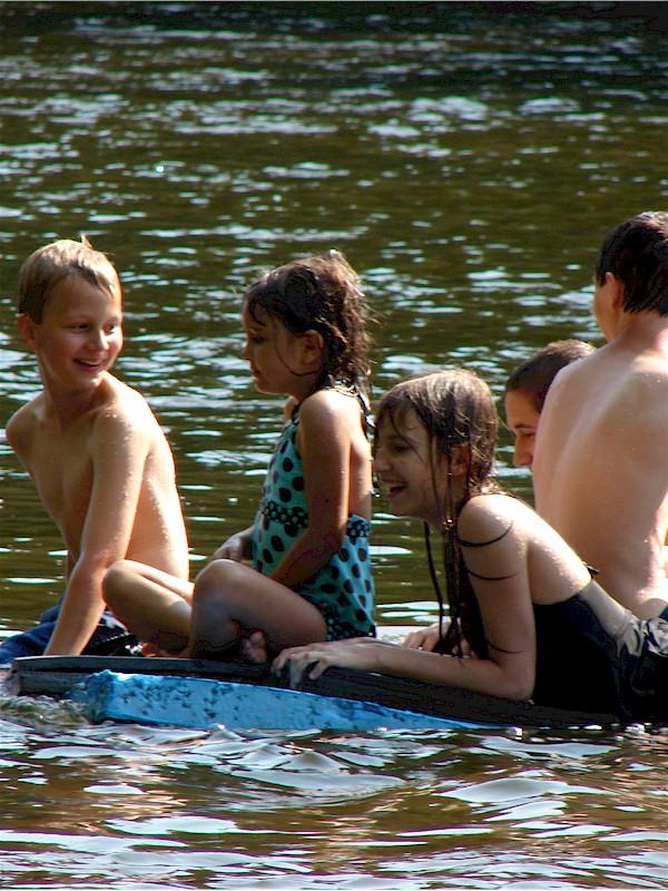 En Gedi Campground River Resort and Canoe Rental, Leonidas MI