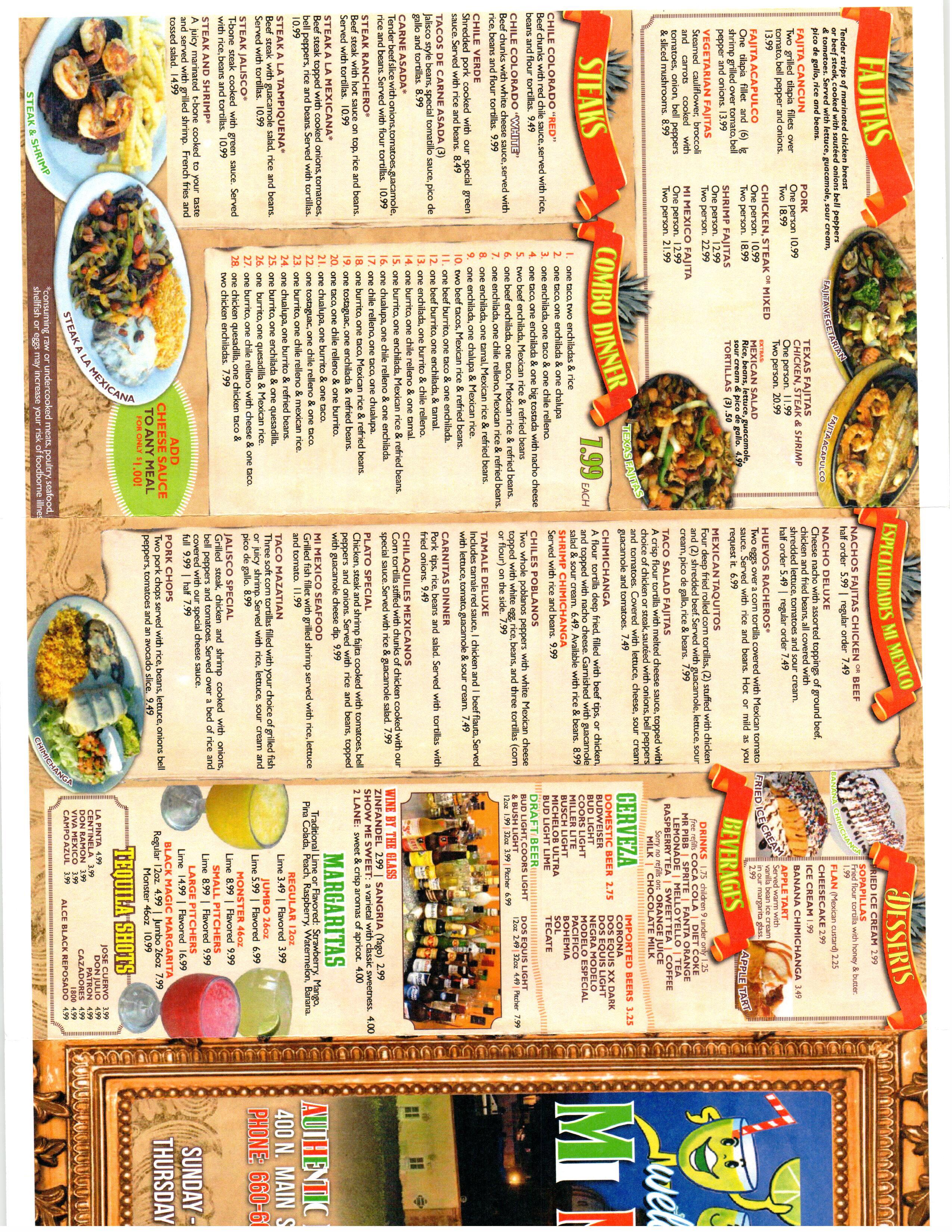 Mi Mexico Mexican Restaurant, Gallatin MO