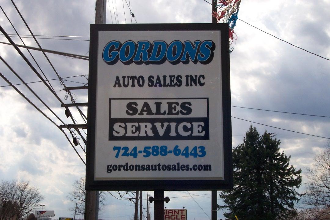 Gordons Auto Sales, Greenville PA