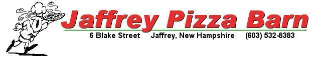 Jaffrey Pizza Barn, Jaffrey NH