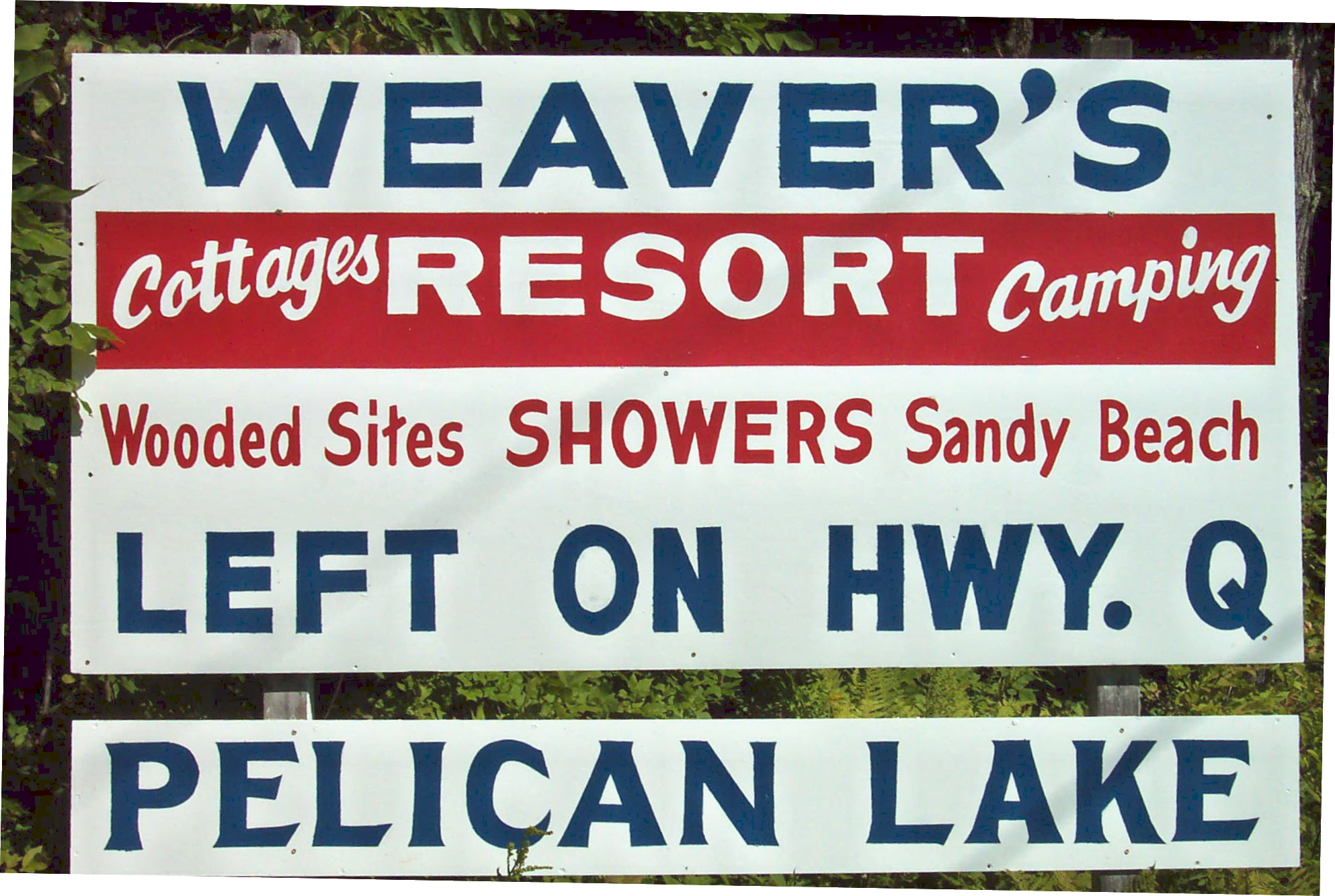 Weaver's Resort & Campground, Pelican Lake WI