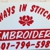 Always In Stitches Embroidery & Screen Printing