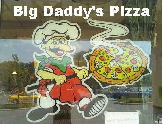 Big Daddy's Pizza, Pottstown PA
