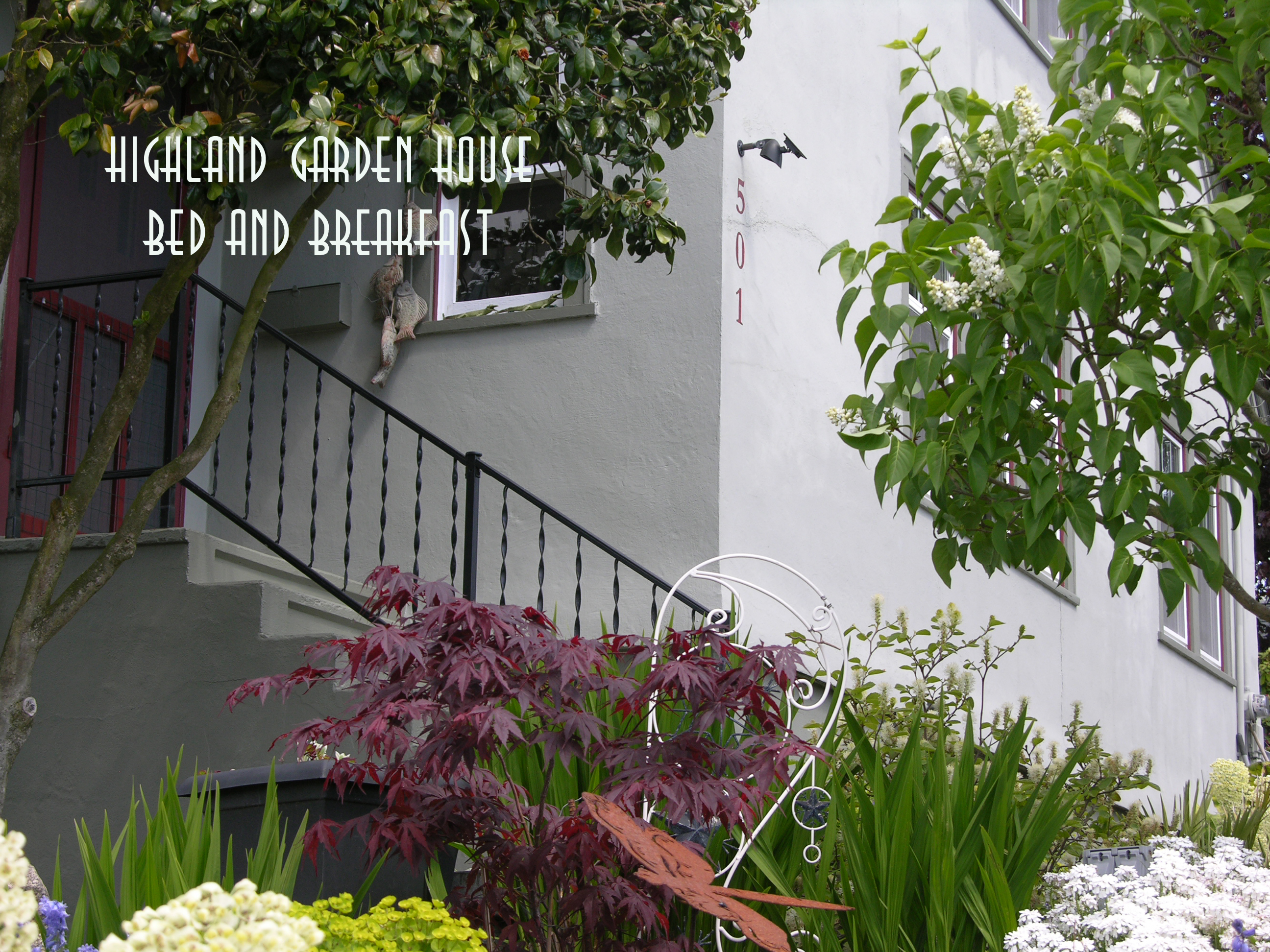 Highland Garden House Bed and Breakfast, Mount Vernon WA