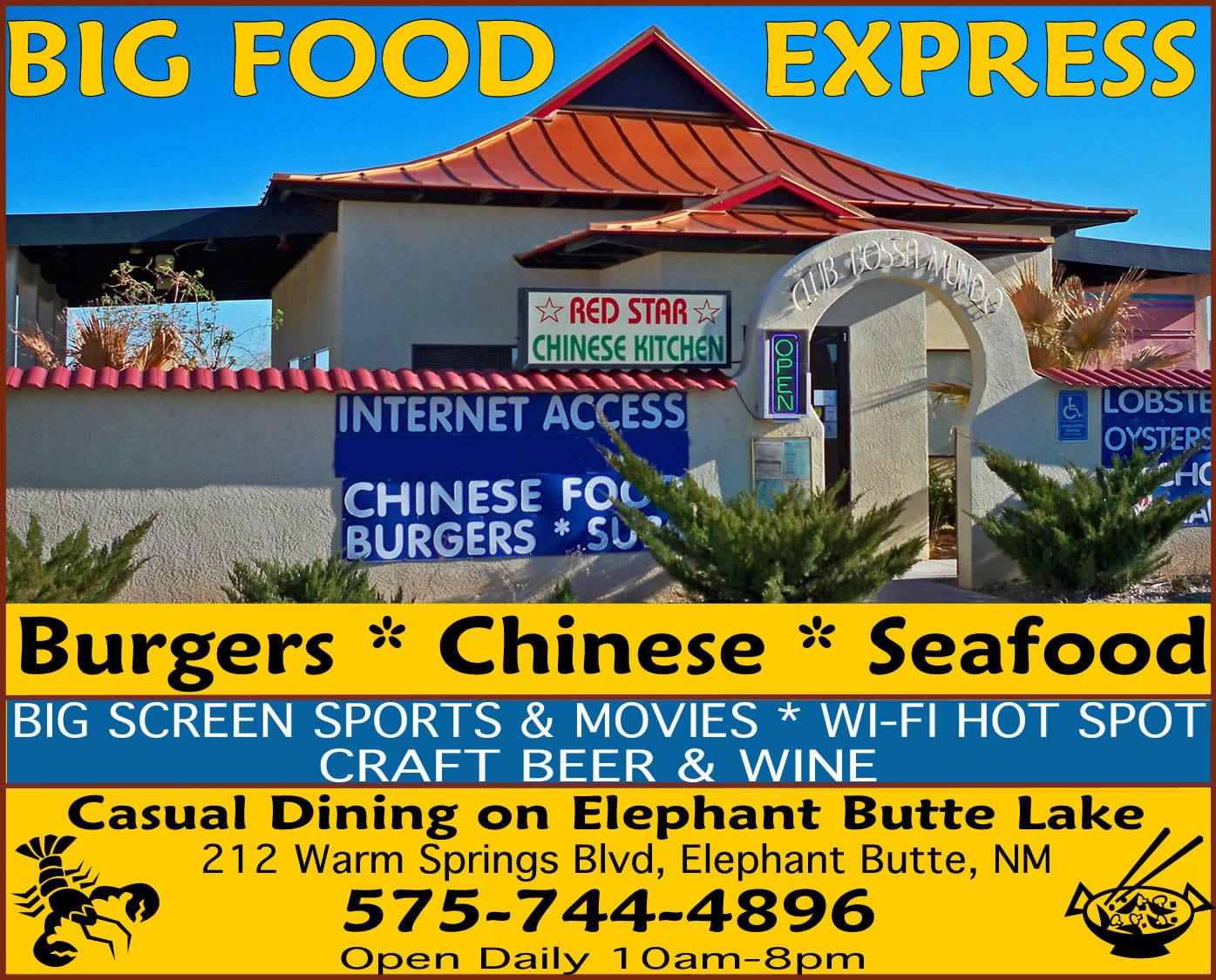 Big Food Express-Club Bossa, Elephant Butte NM