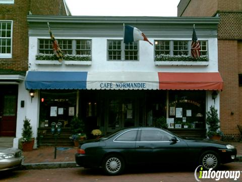 Cafe Normandie Restaurant, Annapolis MD
