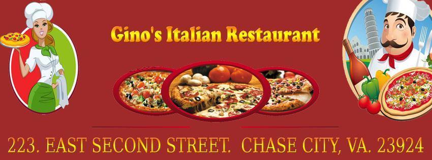 Gino's Pizza & Italian Restaurant, Chase City VA