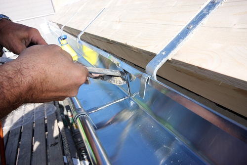 An annual roof inspection can find smaller problems that need fixing before they become major issues.