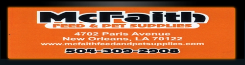 McFaith Feed & Pet Supplies - New Orleans, LA