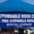 Affordable Rock Chip Repair