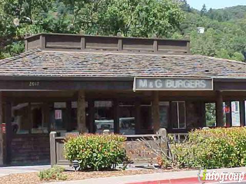 M & G Burgers & Beverages, Fairfax CA