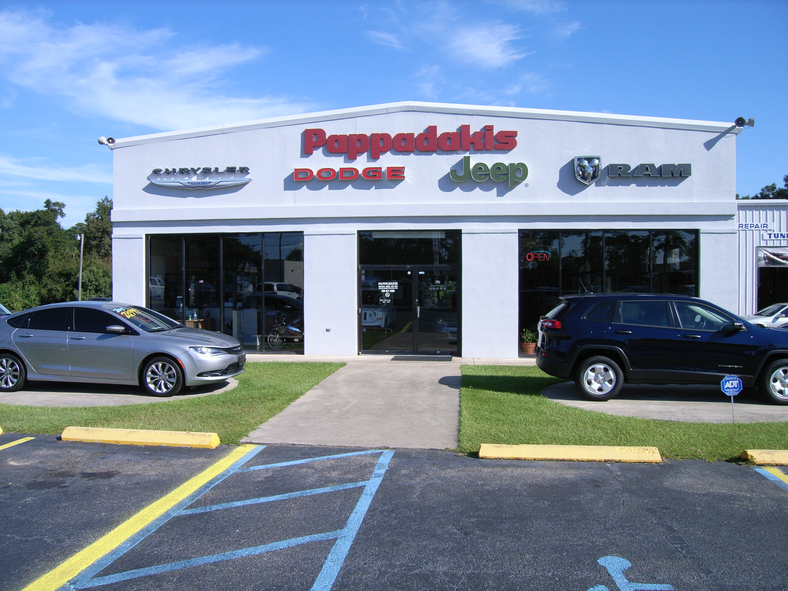 Pappadakis Chrysler Dodge Jeep Ram, Quincy FL
