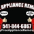 FREE APPLIANCE REMOVAL