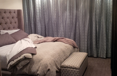 Atlas Floors Carpet One - San Antonio, TX. Bedroom - H2O Invincible LVT, Tabor Oak, Stropes
