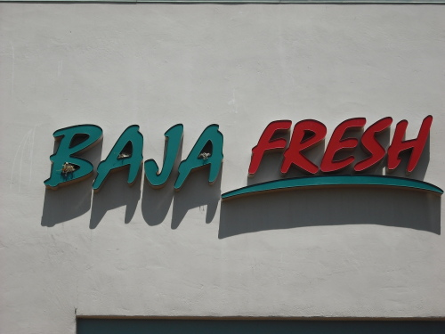Baja Fresh, Cupertino CA