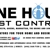 One Hour Pest Control