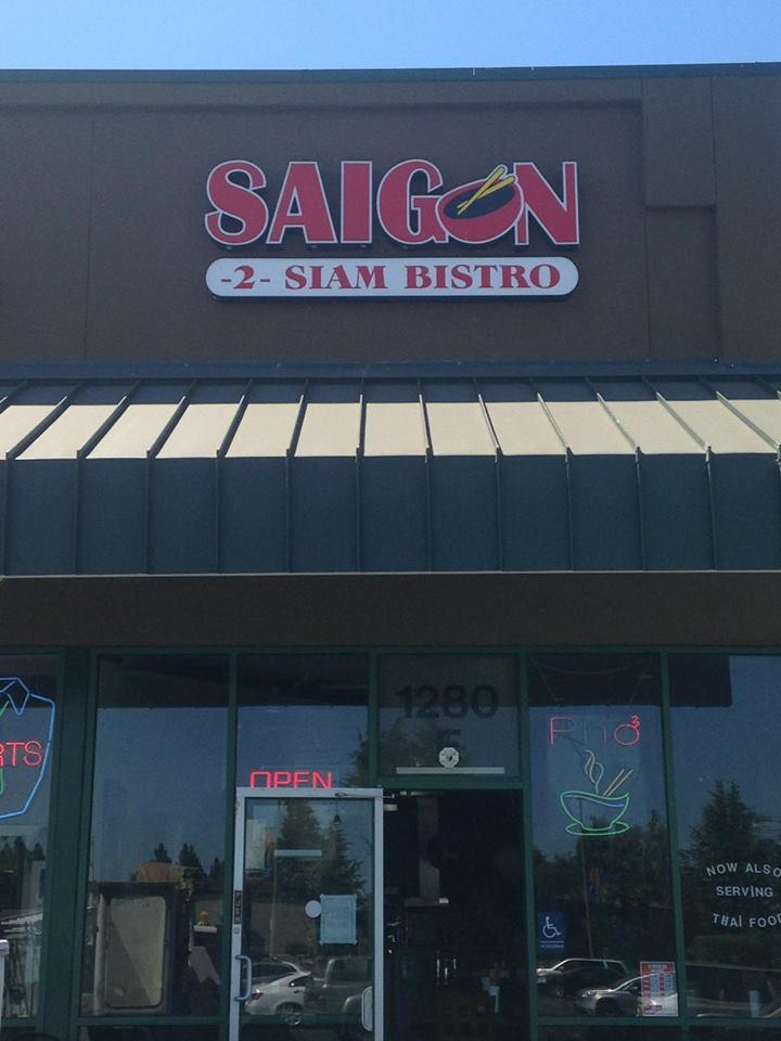 Saigon 2 Siam Bistro, Gilroy CA
