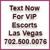 VIP Escorts Las Vegas