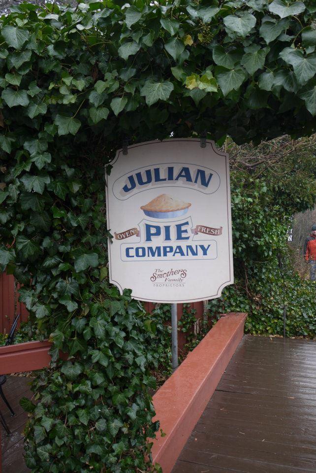 Julian Pie Co, Julian CA