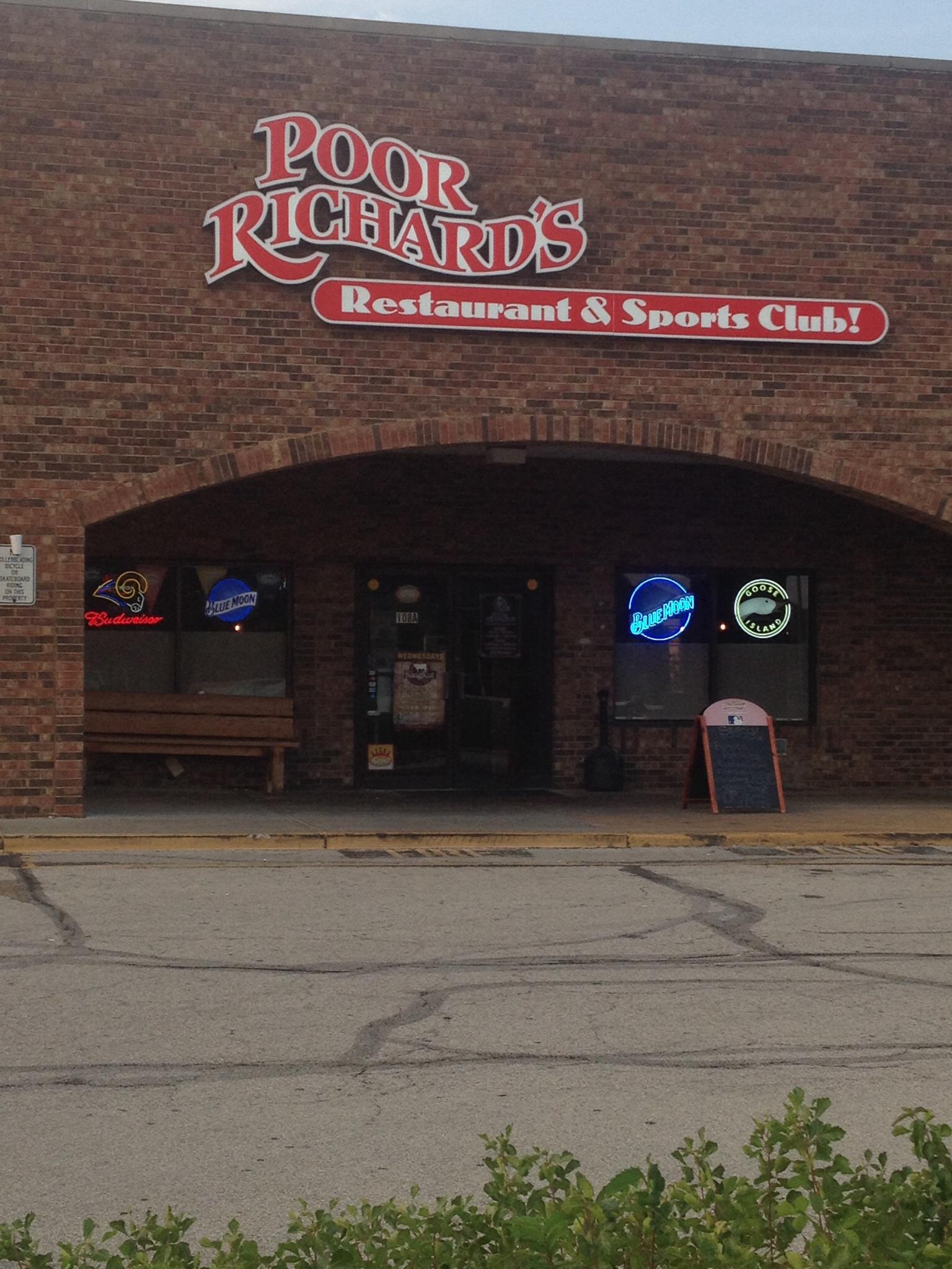 Poor Richards Restaurant & Sports Bar, Eureka MO