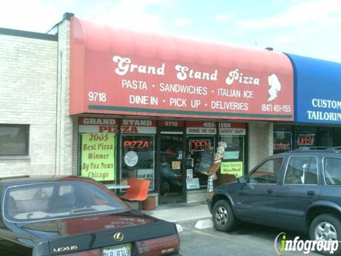 Grand Stand Pizza, Franklin Park IL