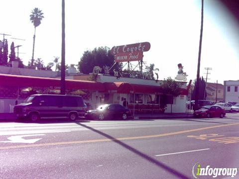 El Coyote Mexican Restaurant & Cafe, Los Angeles CA
