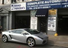 Steven & Francine's Complete Automotive Repair Inc - New York, NY